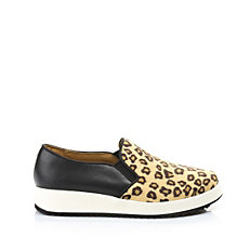 Buffalo Slip On im Animal-Look