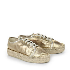 Buffalo Espadrilles in gold