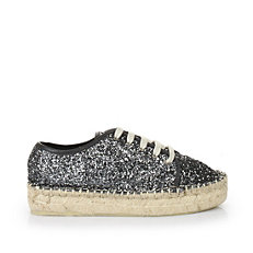 Buffalo Espadrilles in anthrazit