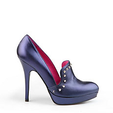 Buffalo Pumps aus Leder in Metallic-Optik