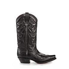 Buffalo Western-Stiefel in schwarz