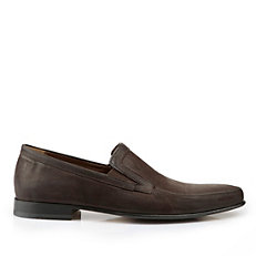 Buffalo Herren-Loafer aus Veloursleder in dunkelbraun