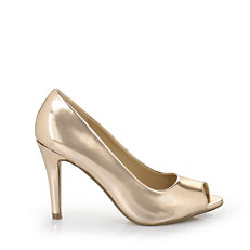 Buffalo Peep Toes in bronze