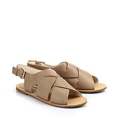 Buffalo Sandale in beige