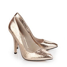 Buffalo Pumps in bronze-farbener Glitzeroptik