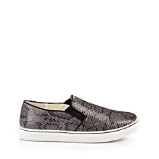 Buffalo Slip On in grauer Reptiloptik