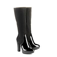 Buffalo Plateau Stiefel in schwarz