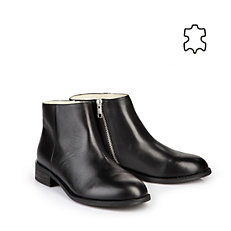 Buffalo Booties in schwarz