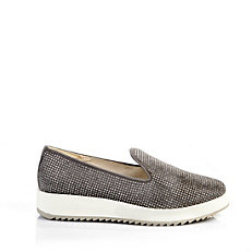 Buffalo Plateau Slip On in grau