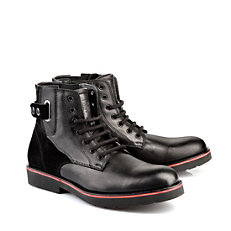Buffalo Herren-Booties in schwarz