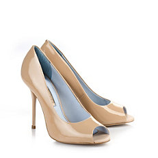 Buffalo Peep Toes in beige