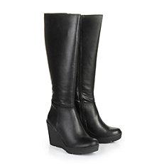 Buffalo Keil-Stiefel in schwarz