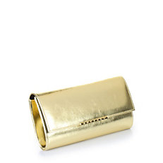 Buffalo Clutch in gold