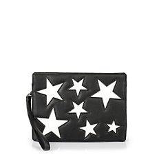 Buffalo Clutch in schwarz mit Sternen
