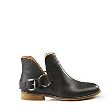 Buffalo Booties in schwarz