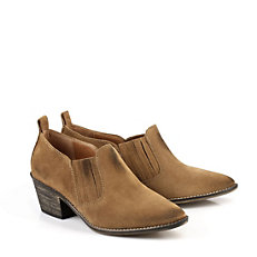 Buffalo Ankle Boots in cognac