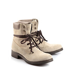 Buffalo Boots in beige