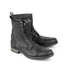Gefütterte Buffalo Herren-Boots in schwarz