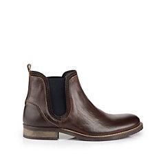 Buffalo Herren Chelsea Boots in DUNKELBRAUN