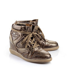 Buffalo Sneaker in Metallic-Optik