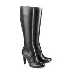 Buffalo Schmalschaft Stiefel in schwarz