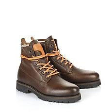 Gefütterte Buffalo Herren-Boots in braun