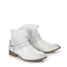 Buffalo Booties in weiß