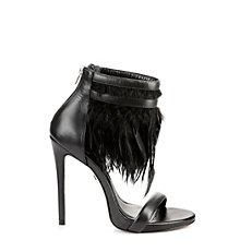 Buffalo Sandalette in schwarz